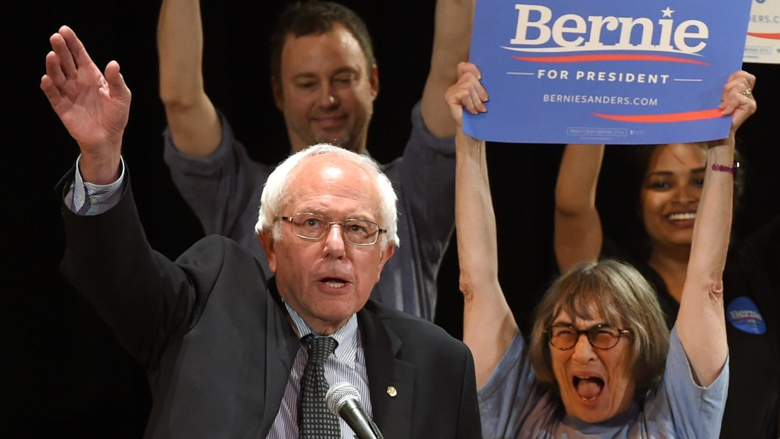 Bernie Sanders joins candidate Ben Jealous to help fire up ...