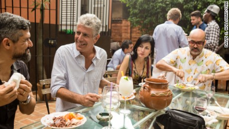 Havana, Cuba - APRIL 13: Anthony Bourdain visits Havana, Cuba on April 13, 2015. (photo by David S. Holloway)