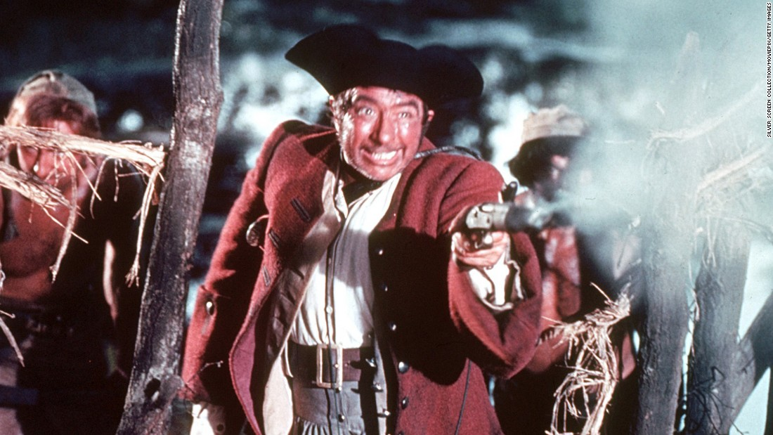 "Long John Silver also appears in ""Black Sails,"" but the peg-legged pirate made his debut in the Robert Louis Stevenson novel ""Treasure Island."" Typically seen with a parrot on his shoulder, Long John Silver is another recurring character in pop culture, including the 1950 film ""Treasure Island,"" played by actor Robert Newton."