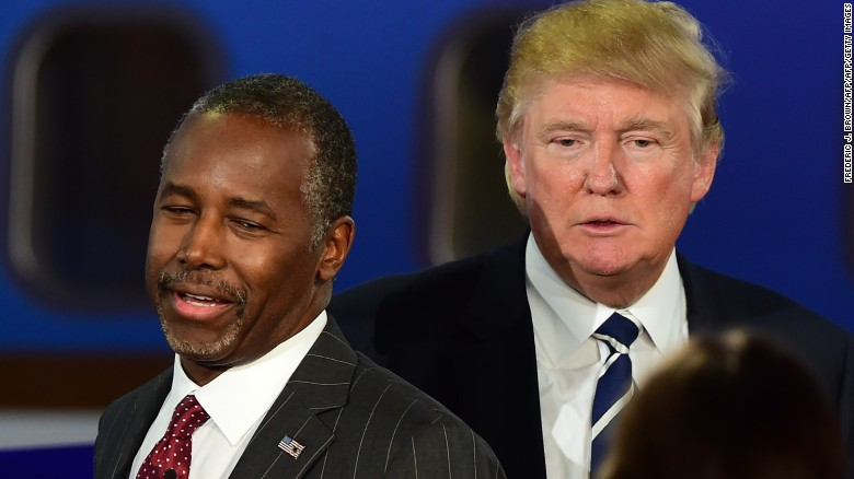 Poll: Trump, Carson break away from pack