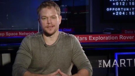 Matt Damon discusses NASA's journey to Mars