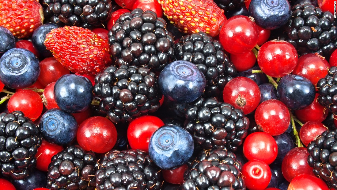 Berries make up 4.3% of young people's fruit intake.