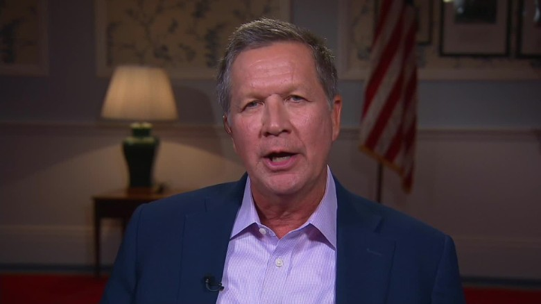 Kasich would sign bill to stop Down syndrome abortions