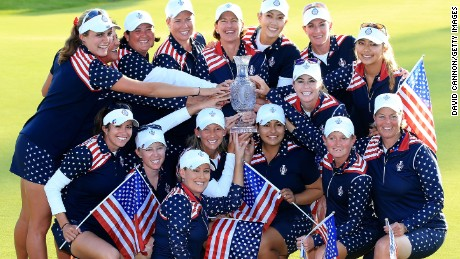 Solheim Cup: U.S wins amid tears and controversy