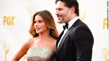 LOS ANGELES, CA - SEPTEMBER 20:  Actors Sofia Vergara and Joe Manganiello attend the 67th Annual Primetime Emmy Awards at Microsoft Theater on September 20, 2015 in Los Angeles, California.  (Photo by Frazer Harrison/Getty Images)