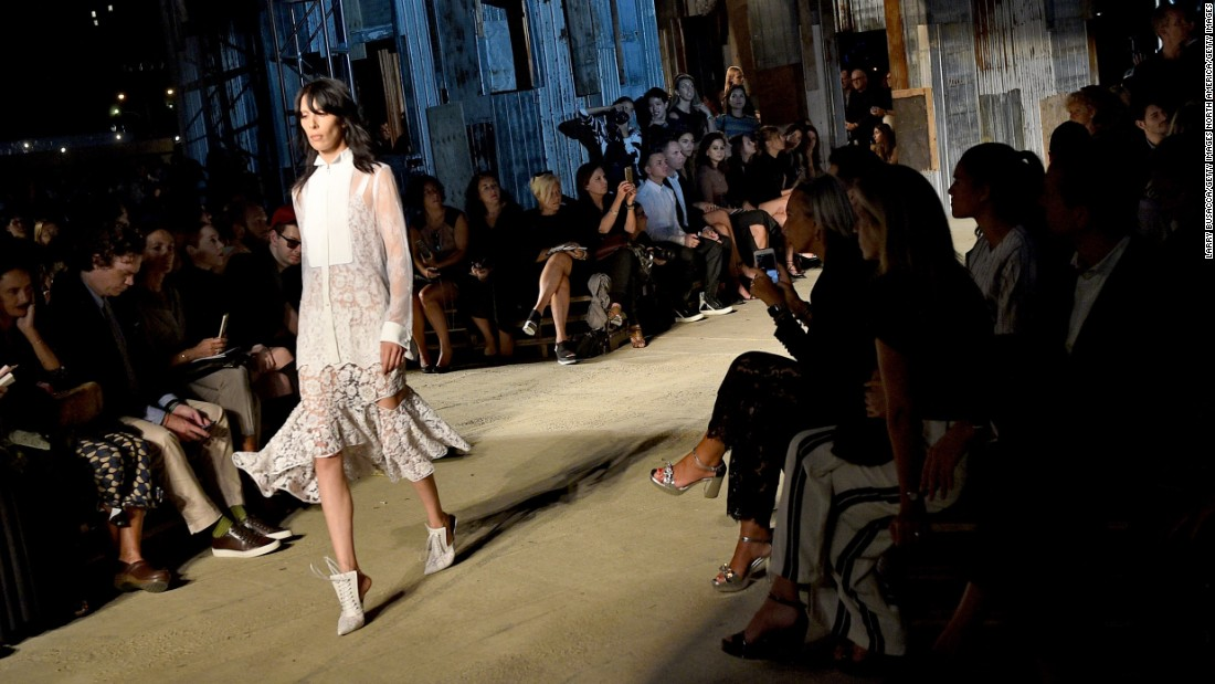 More than 80 models stormed the runways wearing both ready-to-wear and couture pieces.