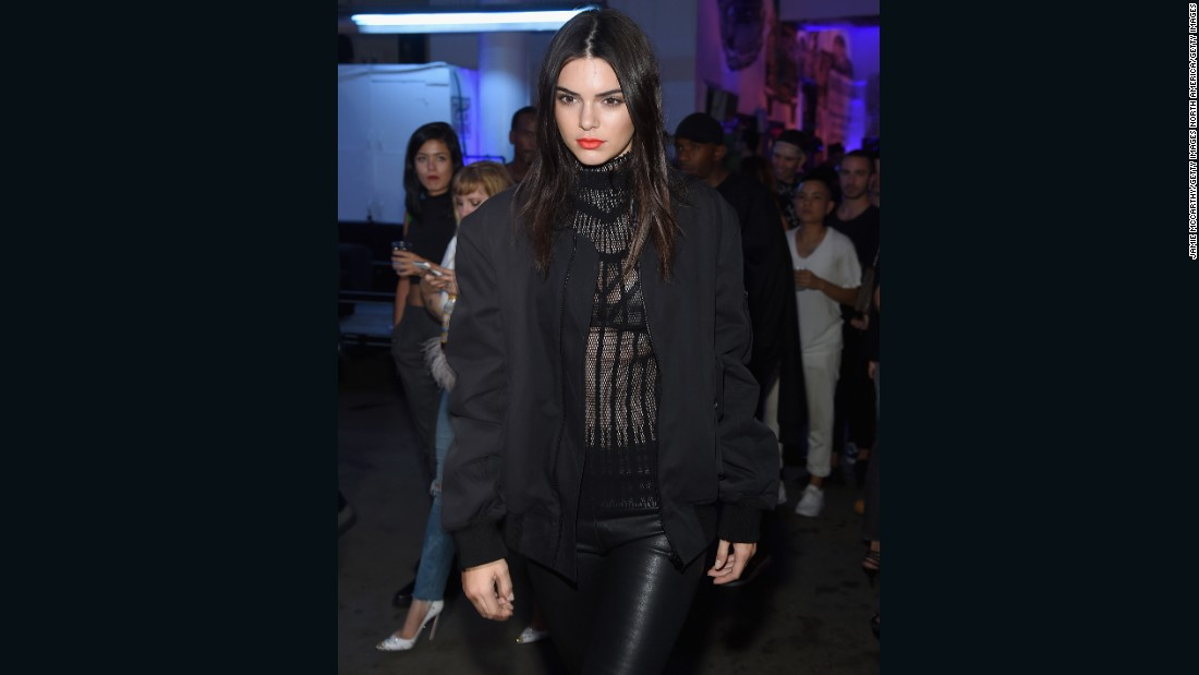 Model Kendall Jenner attended the Givenchy SS16 after party.