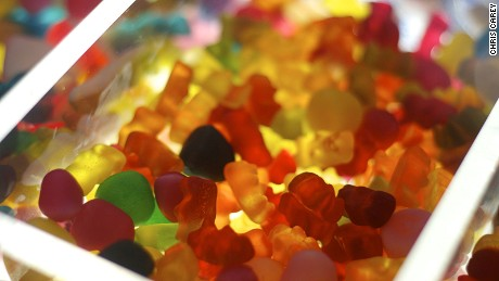 Each day Haribo produces 100 million Gold Bears.