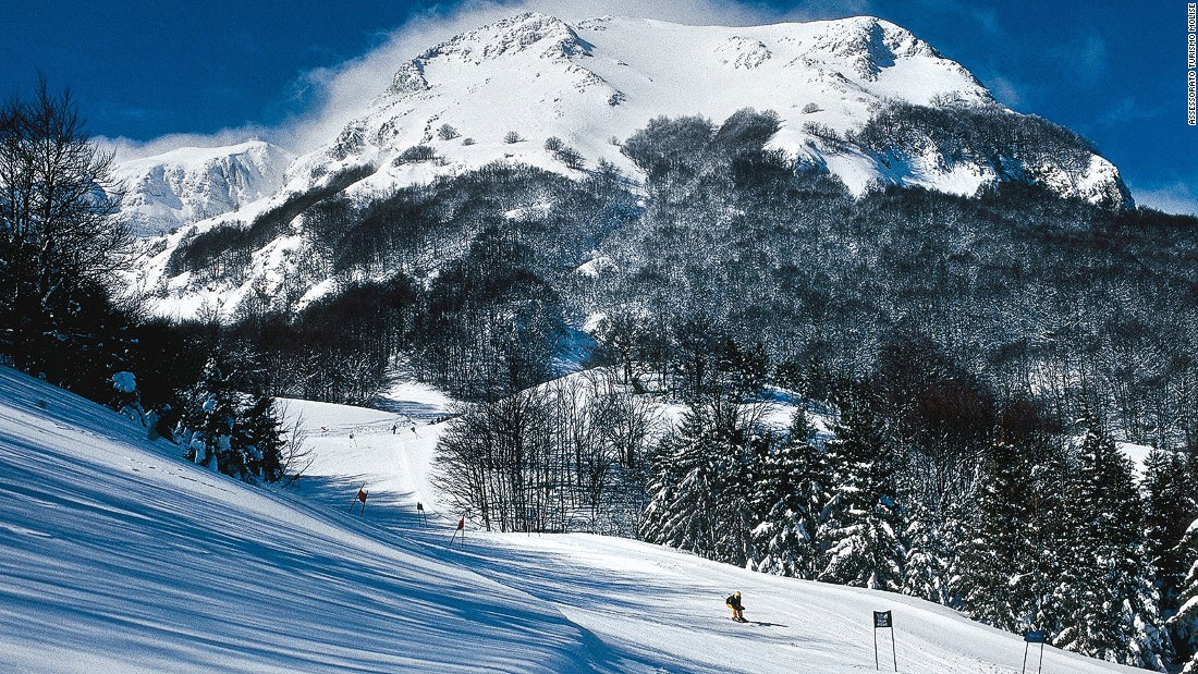 Campitello Matise (pictured) and Capracotta are the area's top ski resorts. Campitello is the larger of the two and has a network of slopes. Capracotta is known for its cross-country skiing.