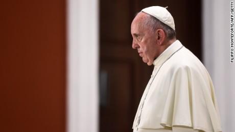 Pope Francis remains at the basilica of Our Lady of Charity of El Cobre, in El Cobre, Santiago de Cuba on September 21, 2015.