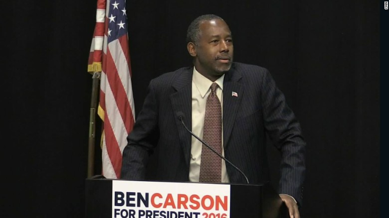 Ben Carson: Three positions in three days