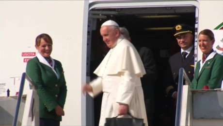 cnnee pkg molinares pope francis in united states _00000920