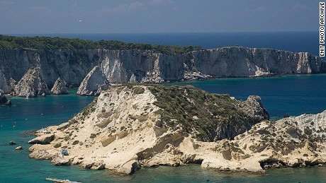 It's a short ferry ride from Termoli to the Tremeti Islands in neighboring Apulia, where the crystal-clear waters have become a popular diving spot.