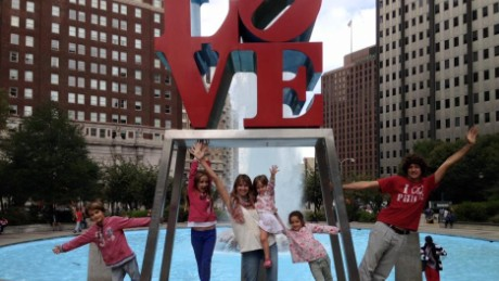 Walkers family in Philadelphia