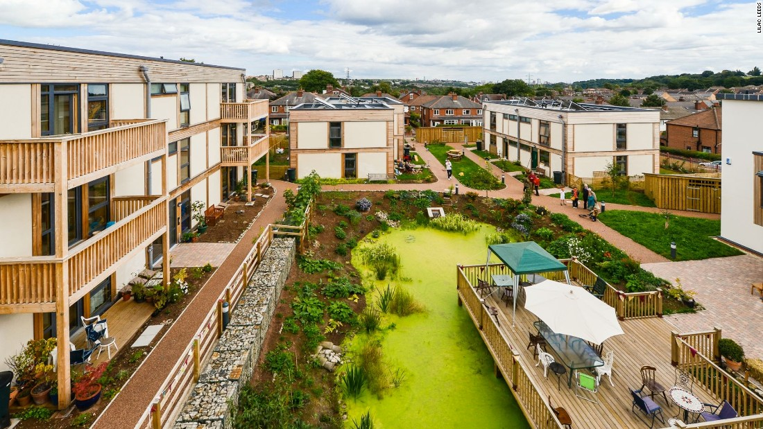 Dozens of cohousing projects are in development around the UK, such as the innovative LILAC community in the city of Leeds.