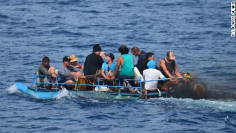 The number of Cubans trying to reach the United States in rafts and small boats has grown, possibly because of the restoration of diplomatic relations between the two countries.