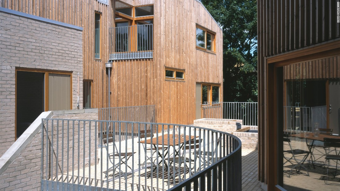 Copper Lane - London's first cohousing community, which was planned and developed by its 13 residents over several years at a cost of almost $3 million.