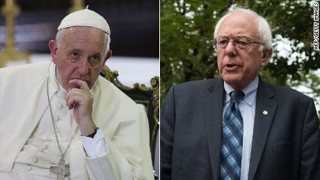 What Bernie Sanders and Pope Francis share