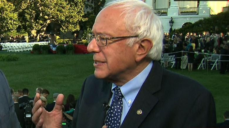 Sanders: Pope Francis has a 'very progressive' agenda