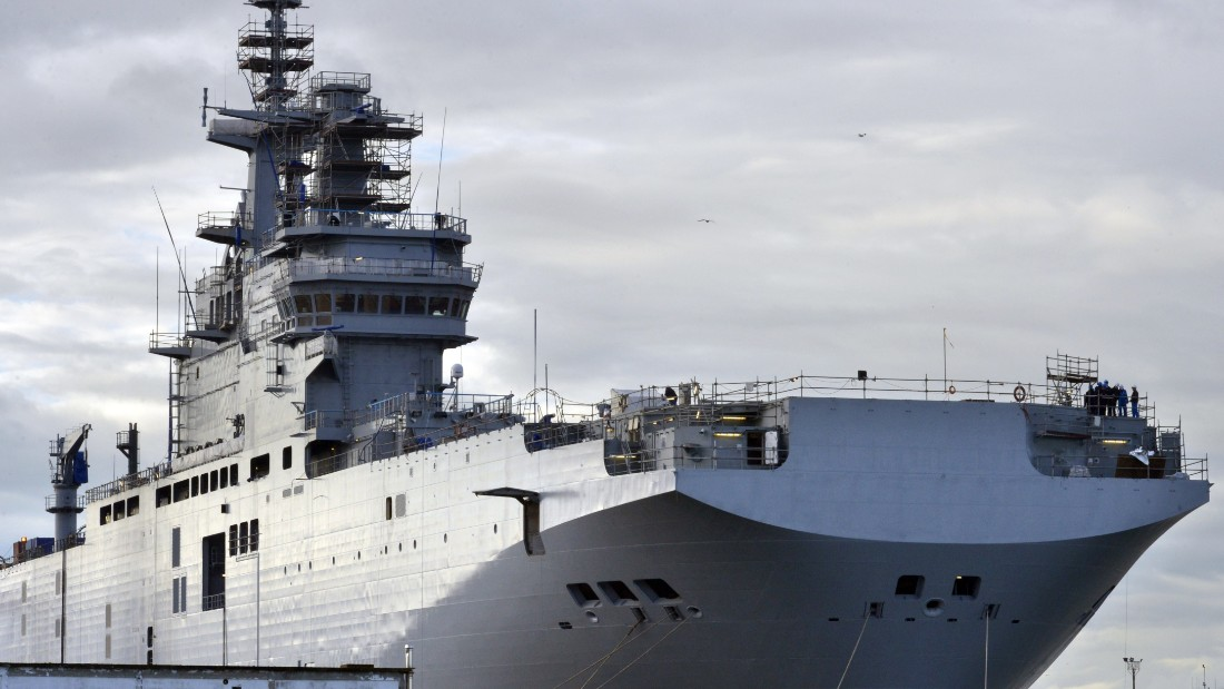 france selling formerly russia bound warships to egypt cnn