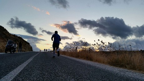 Running the Greek islands