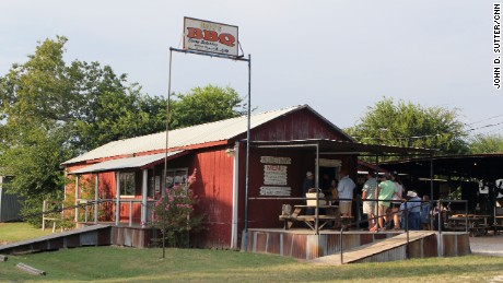 Aside from special events, Snow's BBQ is open only on Saturday morning.