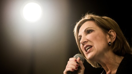 MYRTLE BEACH, SC - SEPTEMBER 22: Republican presidential candidate Carly Fiorina speaks to voters during a town hall meeting at the Ocean Reef Convention Center September 22, 2015 in Myrtle Beach, South Carolina. Fiorina is a former Chief Executive Officer of Hewlett-Packard and currently chairs the non-profit philanthropic organization Good360. (Photo by Sean Rayford/Getty Images)