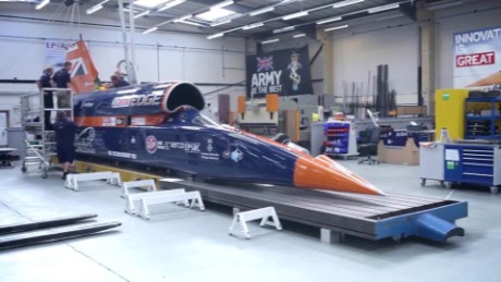 Bloodhound Supersonic set to steal land-speed record