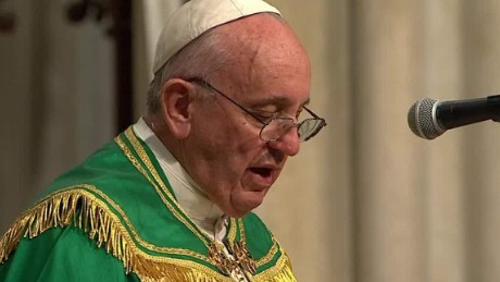 Pope Francis thanks religious women, gets standing ovation