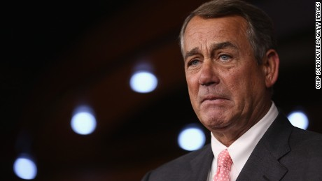 WASHINGTON, DC - SEPTEMBER 25:  Speaker of the House John Boehner (R-OH) announces that he is retiring from the House and stepping down as Speaker at the end of October during a news conference at the U.S. Capitol September 25, 2015 in Washington, DC. After 25 years in Congress and five years as Speaker, Boehner said he decided this morning to step down after contemplation and prayer.  (Photo by Chip Somodevilla/Getty Images)