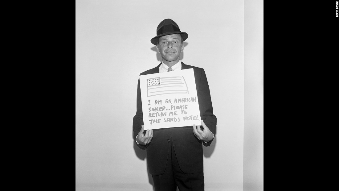 """Sinatra's adventures with the """"Rat Pack"""" were legendary. The singer was regularly in the entertainment headlines, and he fostered some of them with good humor."""