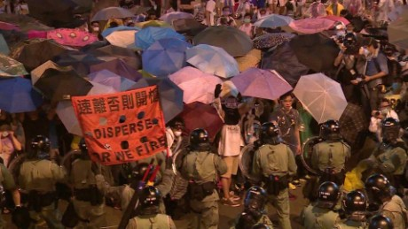 hong kong china occupy one year on natpkg_00000823