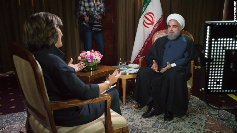 Iranian President: Republican statements 'laughable'