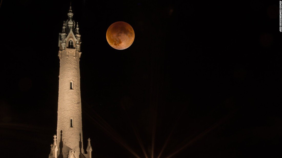"Although poor weather conditions in parts of the United States dampened opportunities to spot the supermoon eclipse, countries around the world saw the lunar event. Here, <a href=""http://ireport.cnn.com/docs/DOC-1273201"" target=""_blank"">John Eggebrecht </a>shared a photo he captured of the supermoon in Milwaukee."