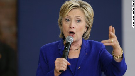 Clinton still leading polls despite Biden's uncertainty