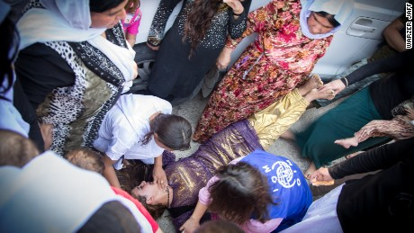 Fleeing ISIS tyranny: Agony of the Yazidis