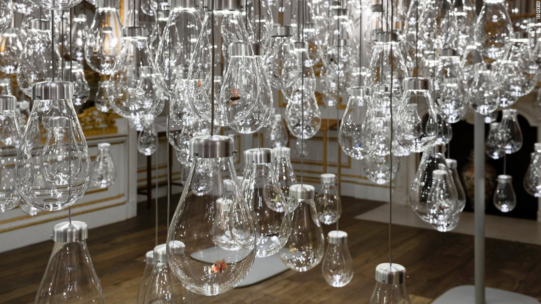 "Of all the installations at London's <a href=""http://www.vam.ac.uk/"" target=""_blank"">Victoria and Albert Museum</a> Austrian duo <a href=""http://www.mischertraxler.com/"" target=""_blank"">mischer'traxler's</a> Curiosity Cloud was arguably the most magical and definitely the most musical. A collaboration with champagne house Perrier Jouet, it was a landscape of blown glass globes filled with hand-fabricated insects. When you walked through the installation the light bulbs came on and the insects started oscillating wildly against the glass in a sensory overload."