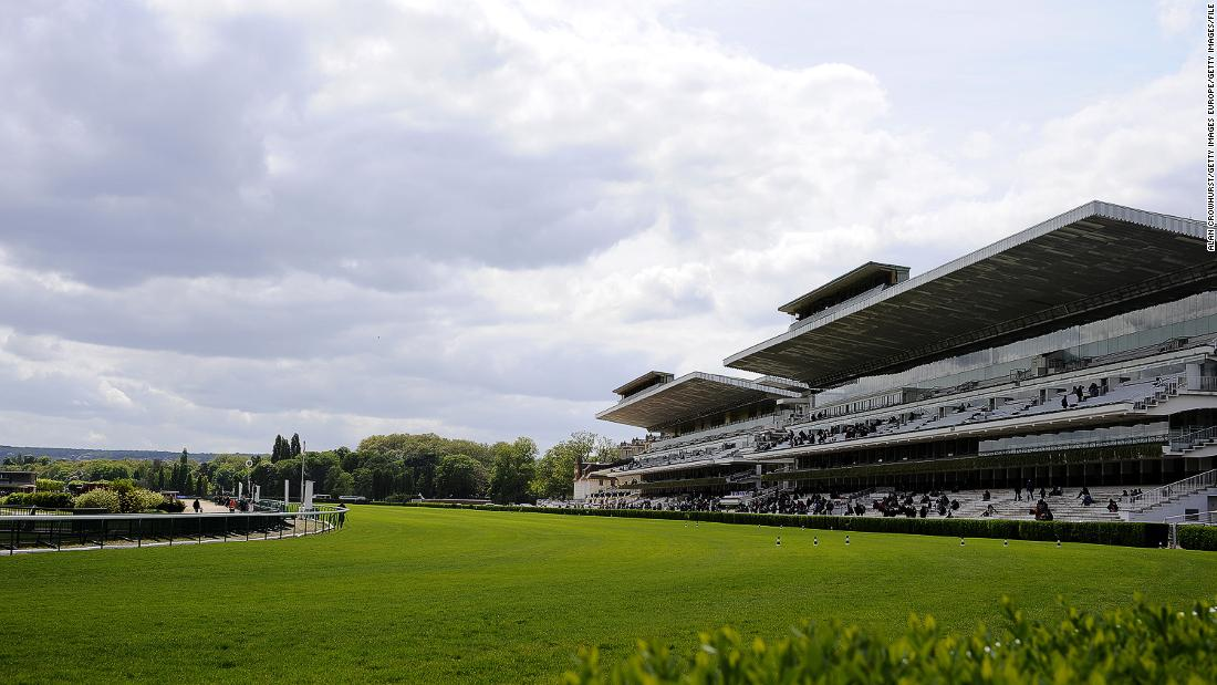 The existing grandstands at Longchamp are packed in the first weekend of October for the running of the Prix de l'Arc de Triomphe -- the richest flat race on turf in the world.