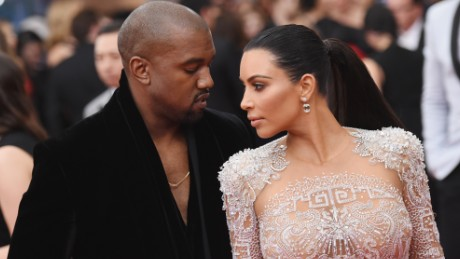 "NEW YORK, NY - MAY 04:  Kanye West (L) and Kim Kardashian attend the ""China: Through The Looking Glass"" Costume Institute Benefit Gala at the Metropolitan Museum of Art on May 4, 2015 in New York City.  (Photo by Mike Coppola/Getty Images)"