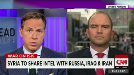 White House Adviser Ben Rhodes United Nations Lead Live_00011926