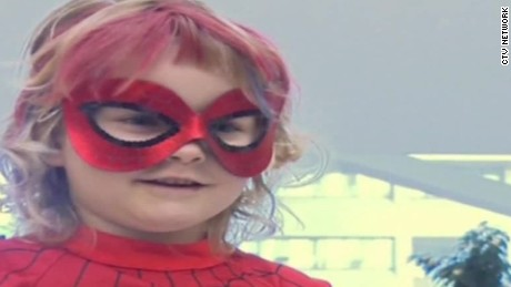 spider mable superhero girl battling leukemia pkg_00004313