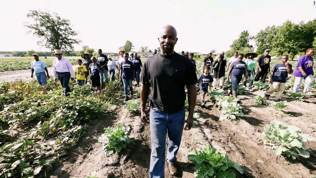 "Richard Joyner's nonprofit, <a href=""http://www.conetoelife.org"" target=""_blank"">Conetoe Family Life Center</a>, grows food which feeds nearby residents for free and helps students raise scholarship money."