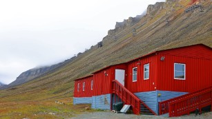 August is the most traveler-friendly season. Visitors fly into Svalbard Airport, a three-kilometer bus ride from Longyearbyen.