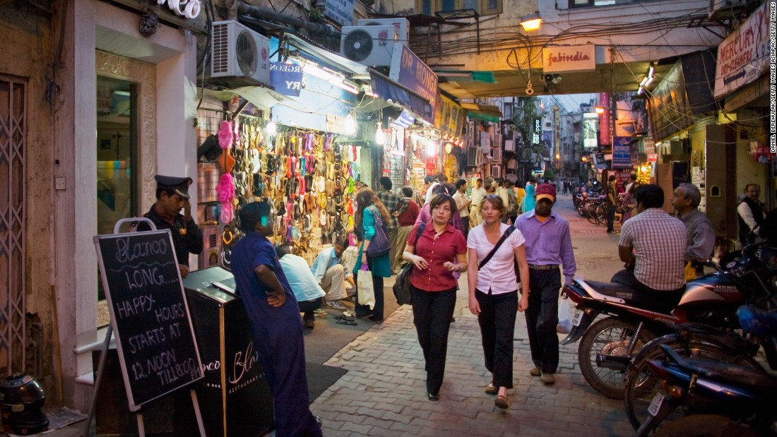 Khan Market originally emerged as a shopping district for Pakistani refugees from the late 1940s.