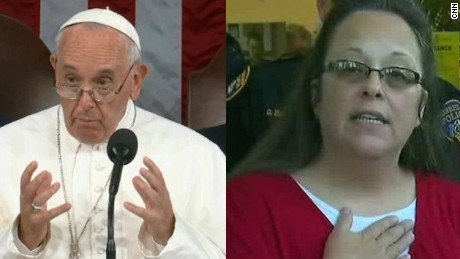 Kim Davis' attorney describes meeting with Pope