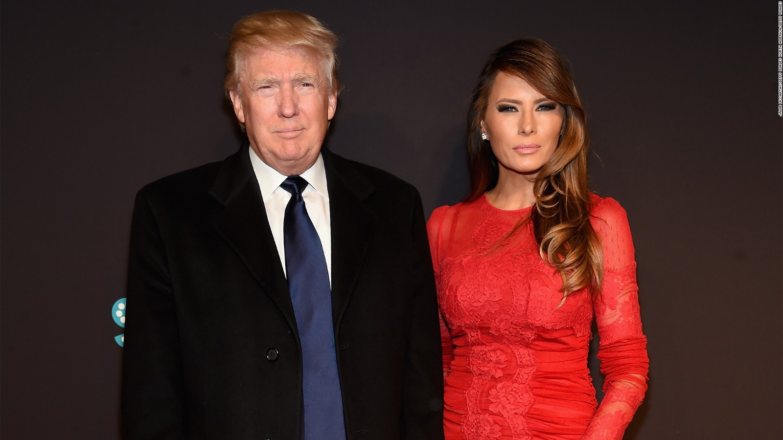 Image result for melania an donald looking mad