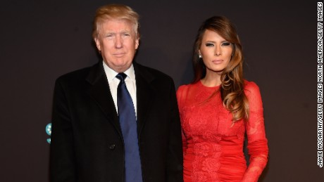 Donald Trump and Melania Trump attend the 2015 New York Spring Spectacular at Radio City Music Hall on March 26, 2015 in New York City.