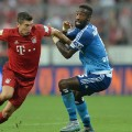 Rovert Lewandowski Bayern Munich Hamburger