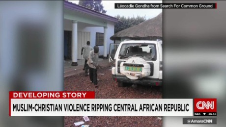 Sectarian violence surges in Central African Republic