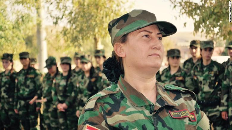 Sun Brigade: The women taking on ISIS. Photojournalist: Alex Platt.